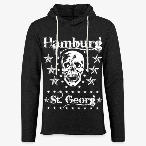 Hamburg Stadtteile Skull Totenkopf T-shirt 53 - Leichtes Kapuzensweatshirt Unisex