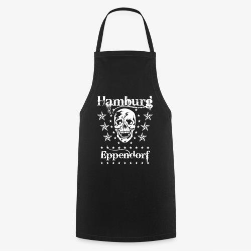 Hamburg Stadtteil Eppendorf Skull Totenkopf T-Shirt 57 - Kochschürze