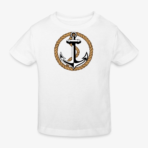 Anker Seil Vintage Farbe T-Shirt 65 - Kinder Bio-T-Shirt