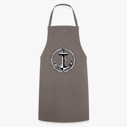 Anker Seil Vintage schwarz-weiss T-Shirt 65b - Kochschürze