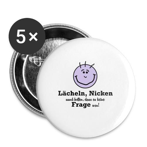 Lächeln - Buttons mittel 32 mm