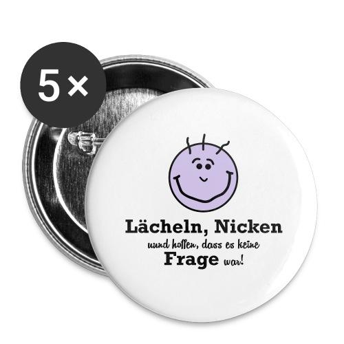 Lächeln - Buttons klein 25 mm