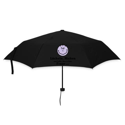 Lächeln - Regenschirm (klein)