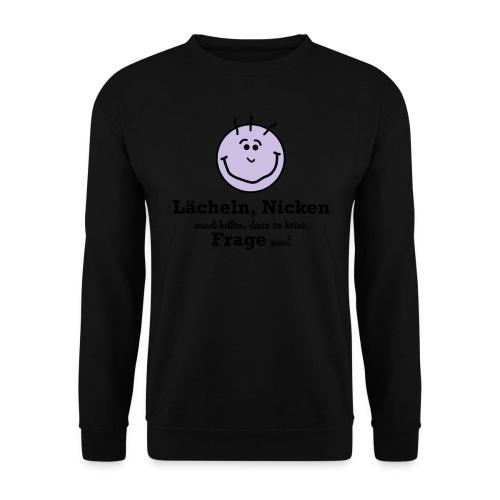 Lächeln - Männer Pullover