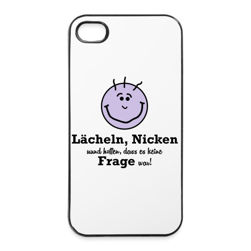 Lächeln - iPhone 4/4s Hard Case