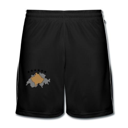 Männer Premium T-Shirt Kosovo Schweiz - Männer Fußball-Shorts