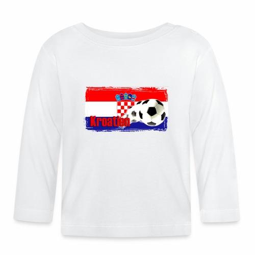 Kroatien Fussball - Baby Langarmshirt
