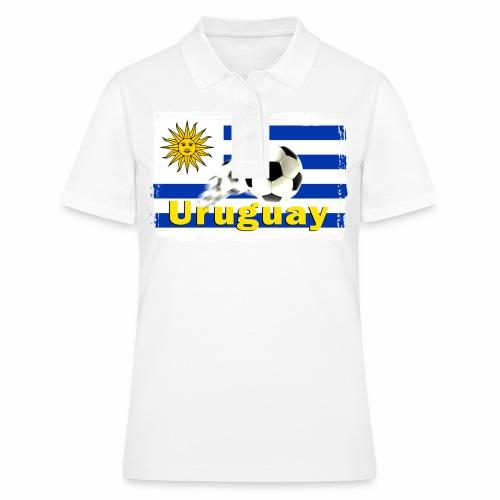Uruguay Fussball - Frauen Polo Shirt