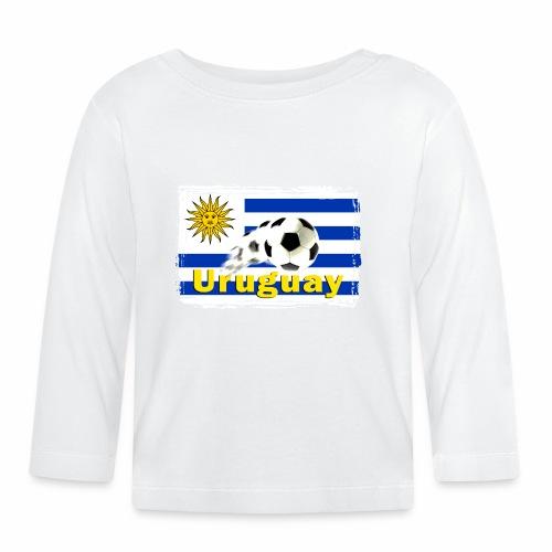 Uruguay Fussball - Baby Langarmshirt