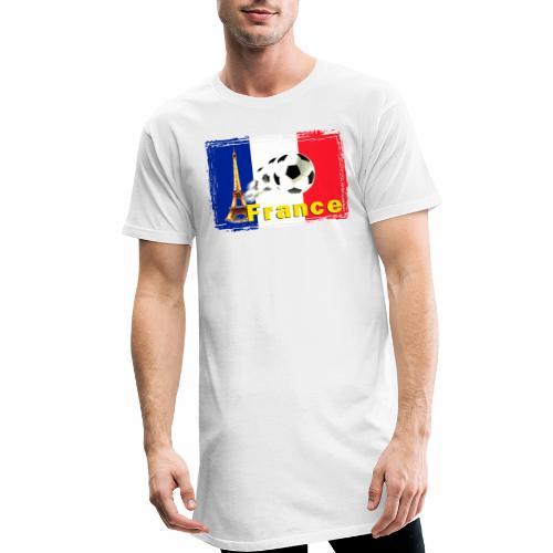 Fussball Frankreich - Männer Urban Longshirt