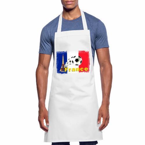 Fussball Frankreich - Kochschürze