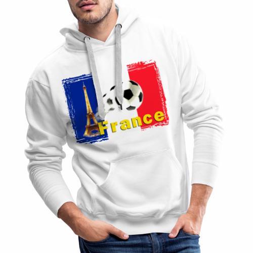 Fussball Frankreich - Männer Premium Hoodie