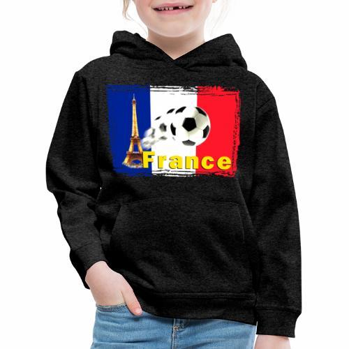 Fussball Frankreich - Kinder Premium Hoodie
