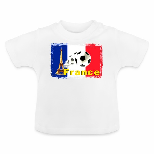 Fussball Frankreich - Baby T-Shirt