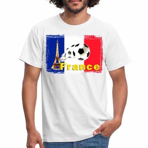 Fussball Frankreich - Männer T-Shirt