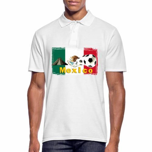 Fussball Mexico - Männer Poloshirt