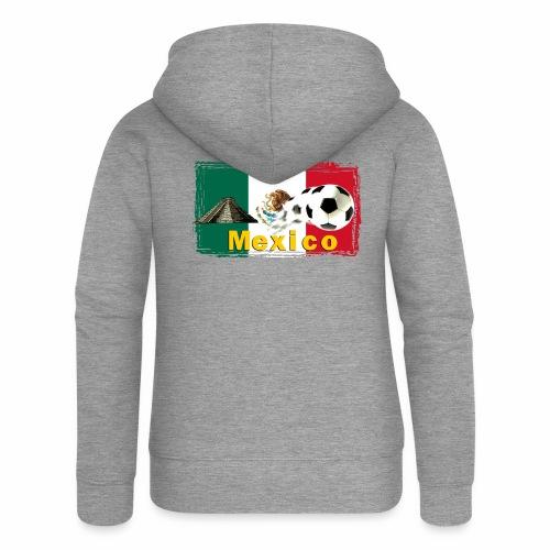 Fussball Mexico - Frauen Premium Kapuzenjacke