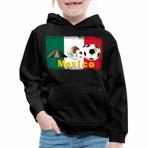 Fussball Mexico - Kinder Premium Hoodie