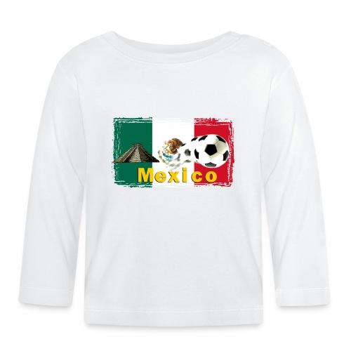 Fussball Mexico - Baby Langarmshirt