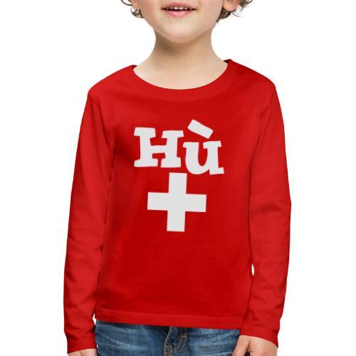 Herren-T-Shirt  |  Hu - Kinder Premium Langarmshirt
