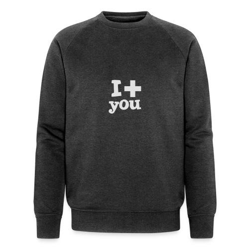 Tasse  |  I love you  - Männer Bio-Sweatshirt von Stanley & Stella
