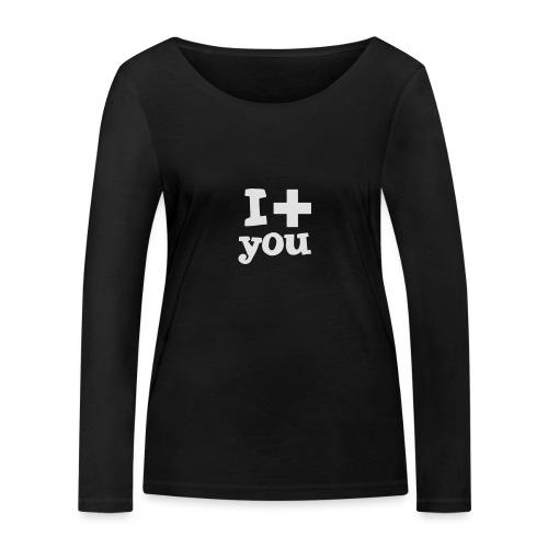 Tasse  |  I love you  - Frauen Bio-Langarmshirt von Stanley & Stella