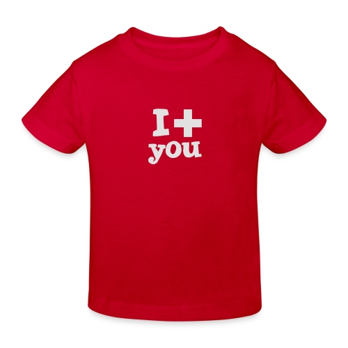 Tasse  |  I love you  - Kinder Bio-T-Shirt