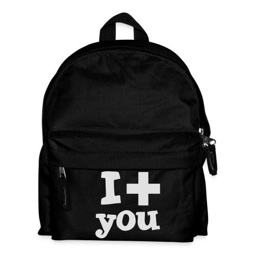 Tasse  |  I love you  - Kinder Rucksack