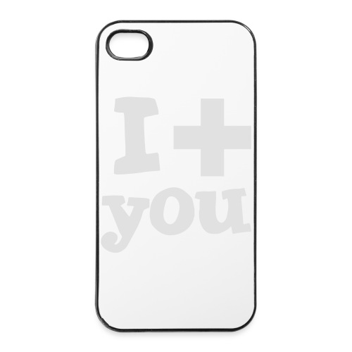 Tasse  |  I love you  - iPhone 4/4s Hard Case