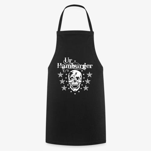 69 Ur-Hamburger Totenkopf Skull Männer T-Shirt - Kochschürze