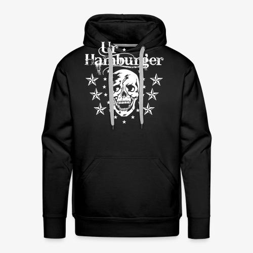 69 Ur-Hamburger Totenkopf Skull Männer T-Shirt - Männer Premium Hoodie
