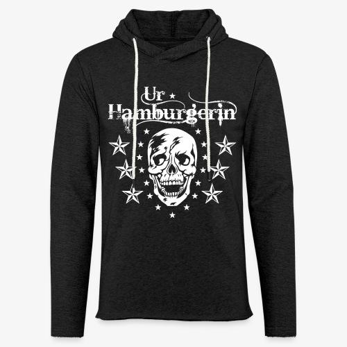 72 Ur-Hamburgerin Totenkopf Skull Frauen T-Shirt - Leichtes Kapuzensweatshirt Unisex