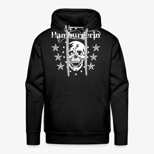 72 Ur-Hamburgerin Totenkopf Skull Frauen T-Shirt - Männer Premium Hoodie