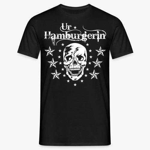 72 Ur-Hamburgerin Totenkopf Skull Frauen T-Shirt - Männer T-Shirt