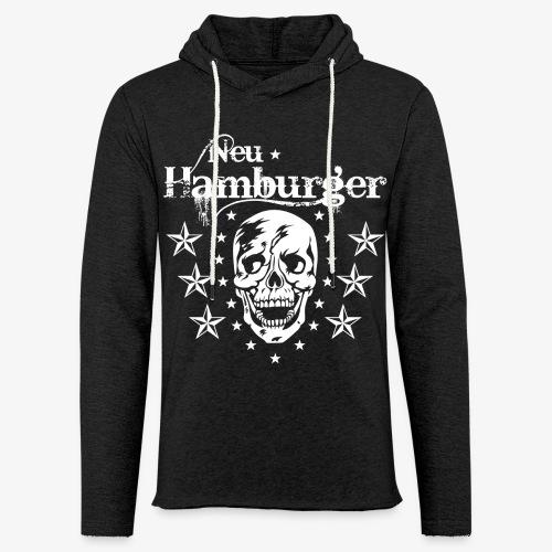 70 Neu-Hamburger Totenkopf Skull Männer T-Shirt - Leichtes Kapuzensweatshirt Unisex