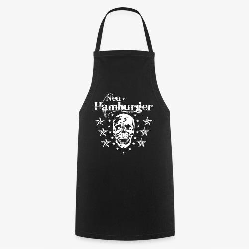 70 Neu-Hamburger Totenkopf Skull Männer T-Shirt - Kochschürze