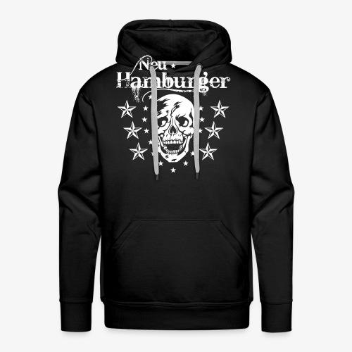 70 Neu-Hamburger Totenkopf Skull Männer T-Shirt - Männer Premium Hoodie