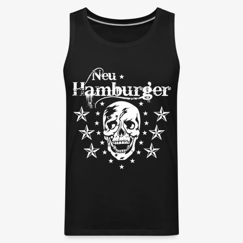 70 Neu-Hamburger Totenkopf Skull Männer T-Shirt - Männer Premium Tank Top