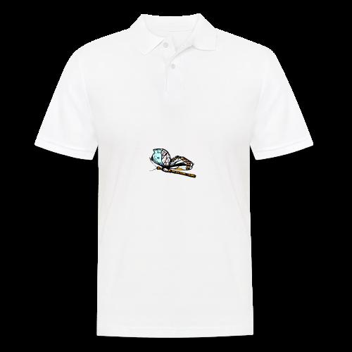Shirts und Geschenke blauer Schmetterling - Männer Poloshirt