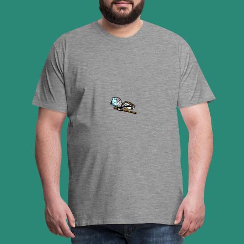 Shirts und Geschenke blauer Schmetterling - Männer Premium T-Shirt