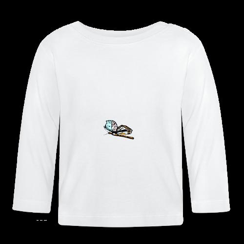 Shirts und Geschenke blauer Schmetterling - Baby Langarmshirt