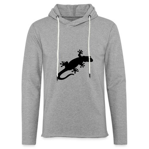 Gecko - Leichtes Kapuzensweatshirt Unisex