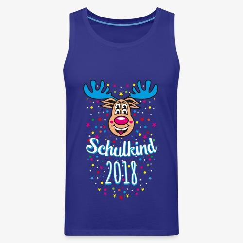 03 Schulkind 2018 Hirsch Rudi Blau Crazy