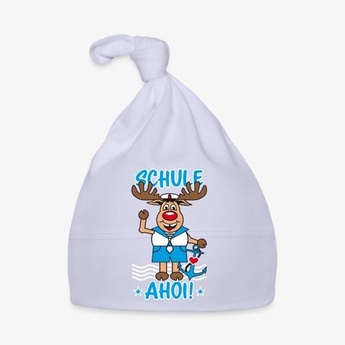 Schule Ahoi Hirsch Rudi Matrose Anker T-Shirt 09 - Baby Mütze