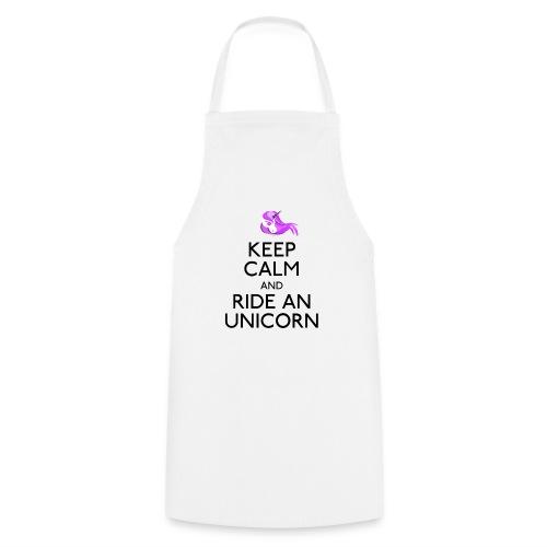 Keep calm ride an unicorn - Keukenschort