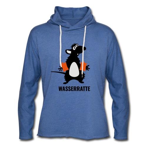Wasserratte - Leichtes Kapuzensweatshirt Unisex