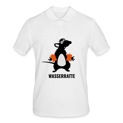 Wasserratte - Männer Poloshirt