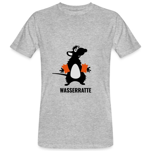 Wasserratte - Männer Bio-T-Shirt