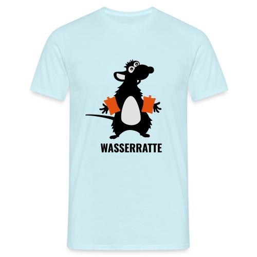 Wasserratte - Männer T-Shirt