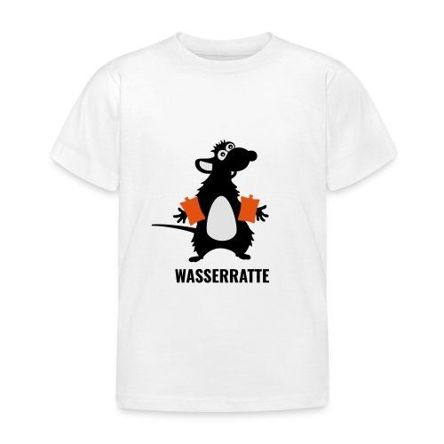Wasserratte - Kinder T-Shirt